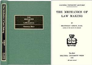 The Mechanics of Law Making: Ilbert, Courtenay