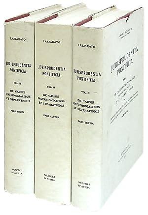 Jurisprudentia Pontificia. Vol. 2, complete in 3 books: Lazzarato, Damianus