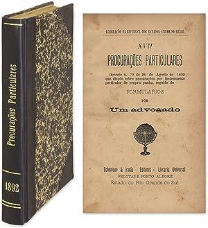 Procuracoes Particulares, Decreto N 79 de 26 [Bound With 5 Titles]: Brazil