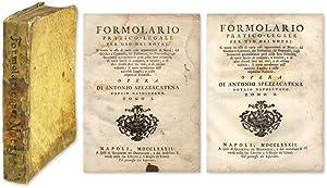 Formolario Pratico-Legale per Uso Dei Notaj, Si Tratta in Esso.: Spezzacatena, Antonio