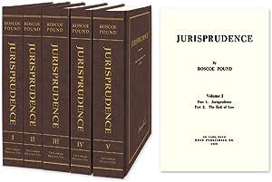 Jurisprudence. 5 Vols: Pound, Roscoe