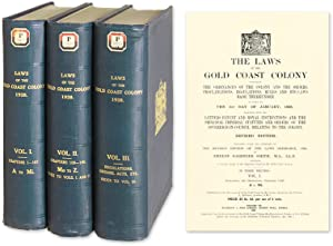 The Laws of the Gold Coast Colony Containing the Ordinances of the.: Smith, Ernest Gardiner, ...
