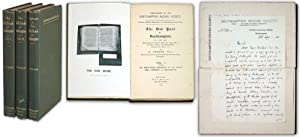 The Oak Book of Southampton. 3 Volumes, Including Supplement: Studer, Paul