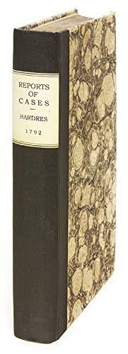 Reports of Cases Adjudged in the Court of Exchequer, In the Years.: Hardres, Thomas