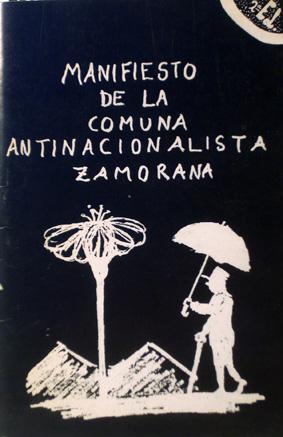 Manifiesto de la Comuna Antinacionalista Zamorana (Spanish Edition) - Comuna Antinacionalista Zamorana