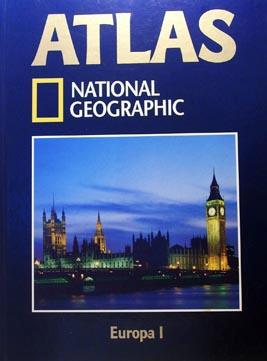 Atlas, National Geographic Europa I: National Geographic Society