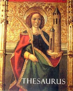 Thesaurus: l'art als Bisbats de Catalunya 1000/1800: VV.AA.