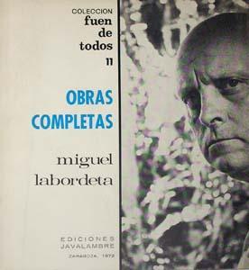 OBRAS COMPLETAS: Labordeta, Miguel.