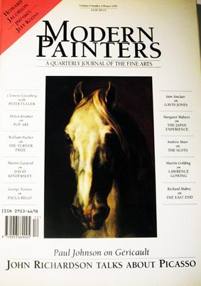 Modern Painters, A Quarterly of the Fine Arts. Volume 4, Number 4, Winter 1991