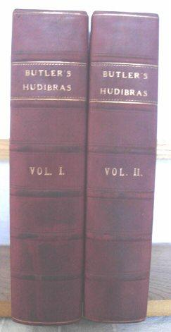 Hudibras, in Three Parts, Written in the Time of the Late Wars: Corrected and Amended. With Large...