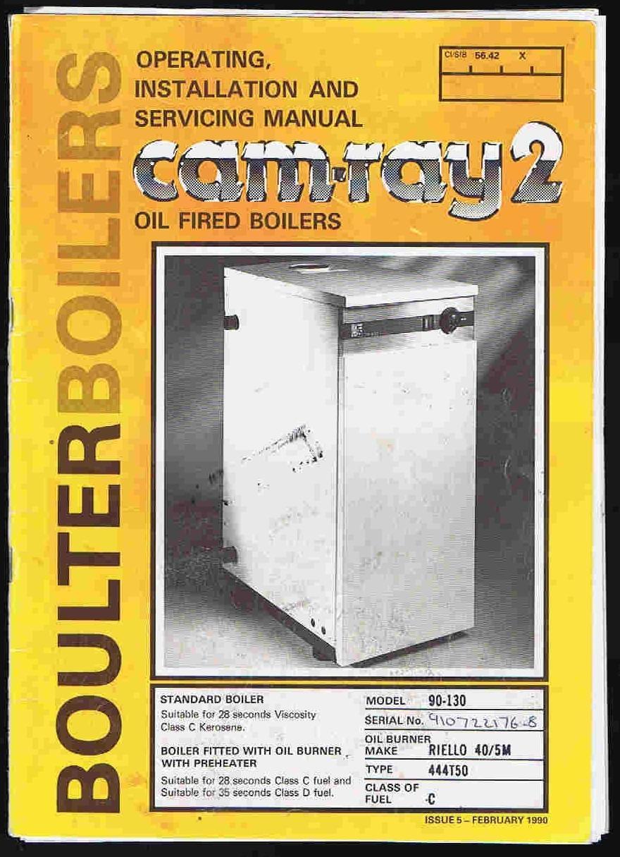 Boulter buderus camray 5 manual: software free download.