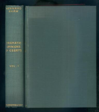 shaw dramatic opinions and essays Dramatic opinions and essays by g bernard shawcontaining as well a word on the dramatic opinions and essays of g bernard shaw more references related to dramatic opinions and.