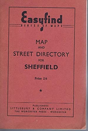 Easyfind Map and Street Directory for Sheffield