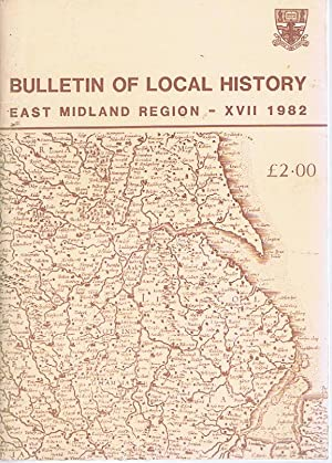 Bulletin of Local History East Midland Region: David Marcombe and