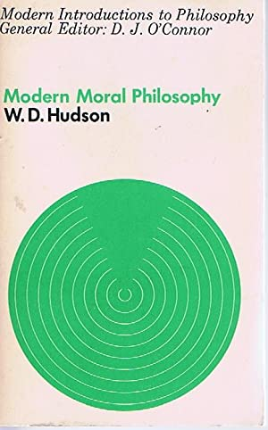 Modern Moral Philosophy: W. D. Hudson