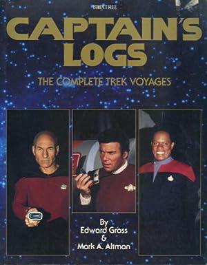 Captain's Logs: The complete Trek Voyages: Edward Gross &