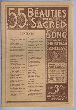 55 Beauties of Sacred song and Christmas: Mozart Allan