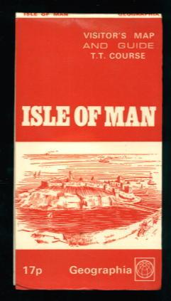 Isle of Man Visitor's Map and Guide Showing Tourist Trophy TT Course