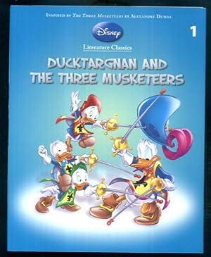 Ducktargnan and the Three Musketeers (Disney Literature Classics 1): Guido Martina
