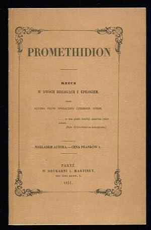 Promethidion: Rzecz w dwóch dialogach z Epilogiem: Cyprian Norwid