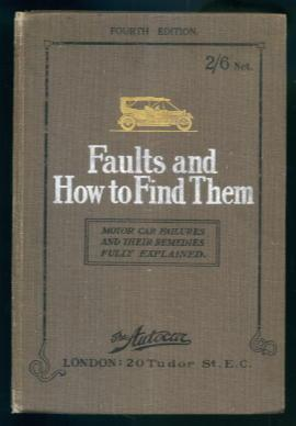 Faults and How to Find Them: Motor: J. S. V.