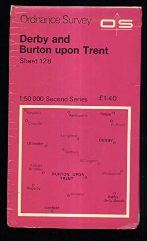 Derby and Burton upon Trent Sheet 128 1:50000 Second Series