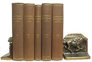 The American Stud Book Five Volume Set.: Bruce, S. D.