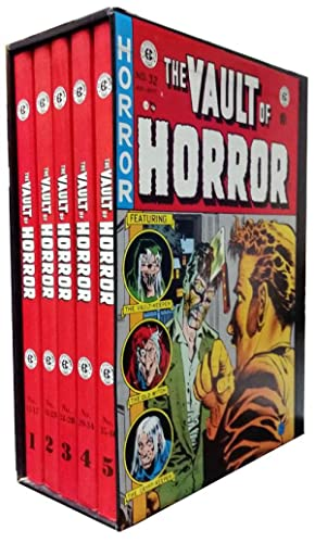 The Complete Vault of Horror Five Volume Set.: Various Authors