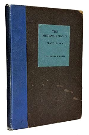 The Metamorphosis.: Kafka, Franz