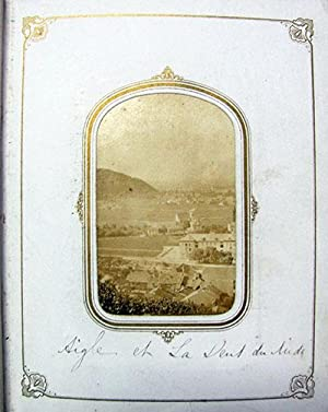 Mid to Late 1800s Photograph Album with Views of Italy, Switzerland, Germany, France and England.