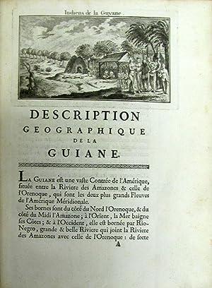 Déscription géographique de la Guyane. Contenant les possessions et les etablissemens...