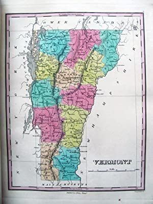 A New General Atlas, Comprising a Complete Set of Maps, Representing the Grand Divisions of the ...
