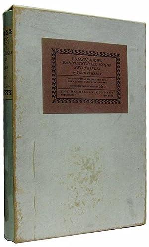 Human Shows, Far Phantasies, Songs, and Trifles.: Hardy, Thomas