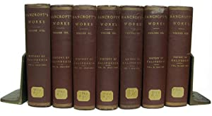 The Works of Hubert Howe Bancroft. History of California Complete Seven Volume Set.: Bancroft, ...