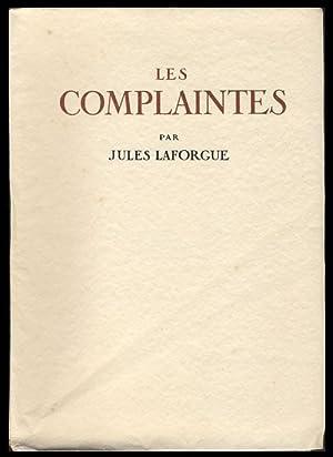Les complaintes.: Laforgue, Jules