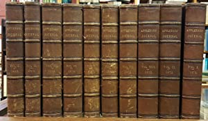 Appletons' Journal of Literature, Science, and Art Ten Volume Set (1869-1873).