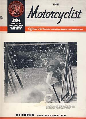 The Motorcyclist October 1939 - Official Publication - American Motorcycle Association