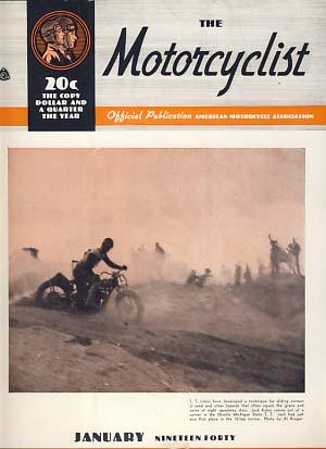 The Motorcyclist January 1940 - Official Publication - American Motorcycle Association