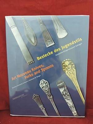 Art Nouveau Knives, Forks and Spoons: Grotkamp-Schepers; Sanger, Reinhard