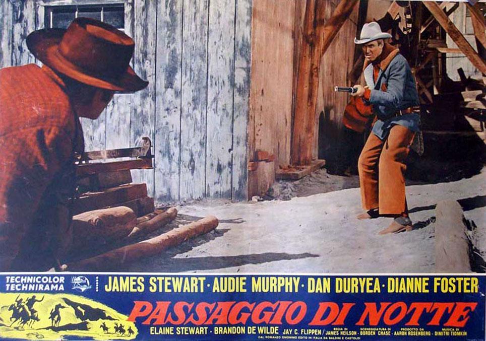 NIGHT PASSAGE MOVIE POSTER/PASSAGGIO DI NOTTE/FOTOBUSTA