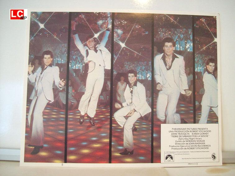 SATURDAY NIGHT FEVER MOVIE POSTER/SATURDAY NIGHT FEVER/MEXICAN LOBBY CARD