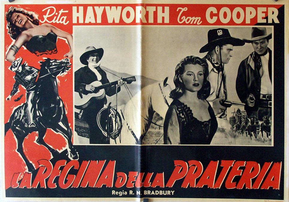 Trouble in Texas MOVIE POSTER/LA REGINA DELLA PRATERIA/FOTOBUSTA