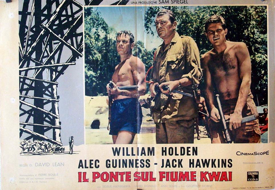 THE BRIDGE ON THE RIVER KWAI MOVIE POSTER/1/FOTOBUSTA