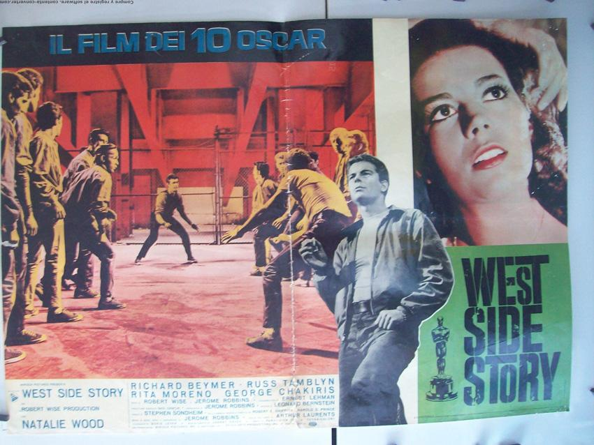 WEST SIDE STORY MOVIE POSTER/WEST SIDE STORY/FOTOBUSTA