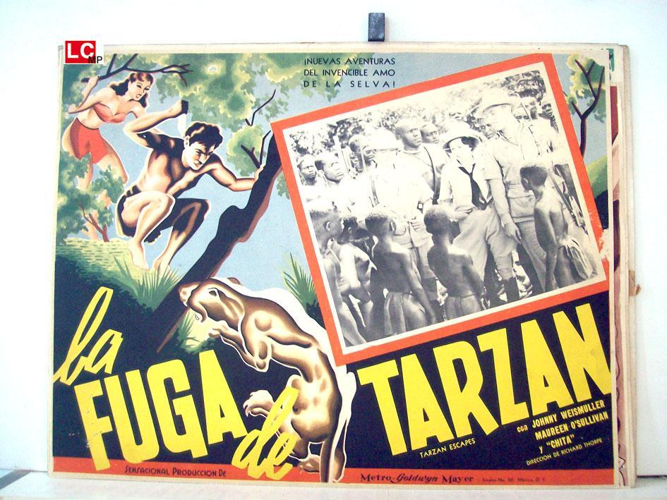 TARZAN ESCAPES MOVIE POSTER/LA FUGA DE
