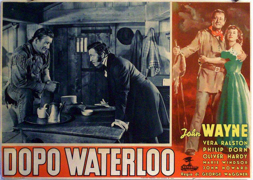 THE FIGHTING KENTUCKIAN MOVIE POSTER/DOPO WATERLOO/FOTOBUSTA