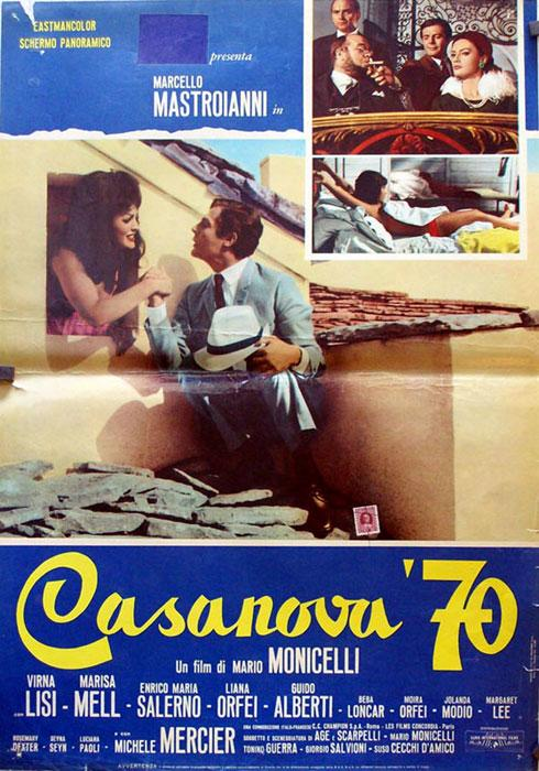 CASANOVA 70 MOVIE POSTER/CASANOVA 70/FOTOBUSTA