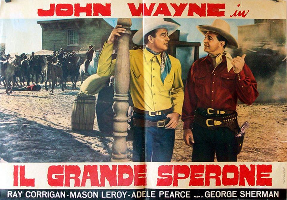 Santa Fe Stampede MOVIE POSTER/IL GRANDE SPERONE/FOTOBUSTA