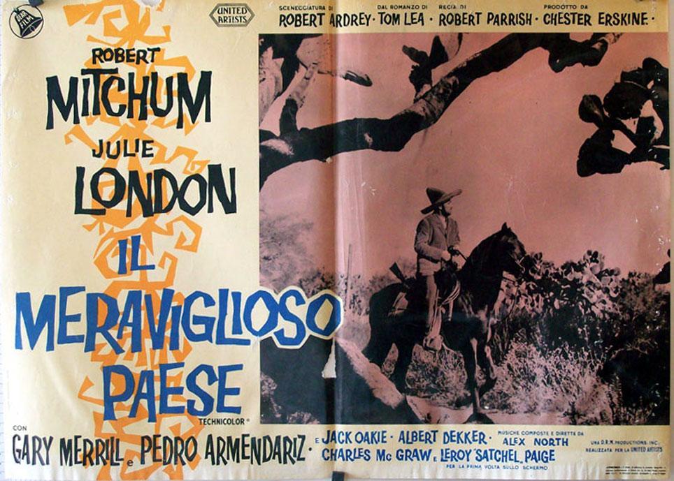 THE WONDERFUL COUNTRY MOVIE POSTER/IL MERAVIGLIOSO PAESE/FOTOBUSTA