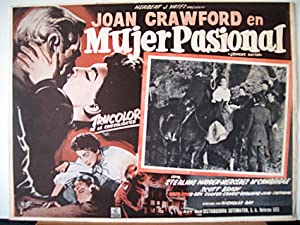 JOHNNY GUITAR MOVIE POSTER/MUJER PASIONAL/MEXICAN LOBBY CARD